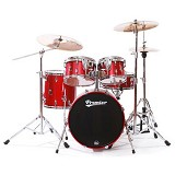 PREMIER Birch Shell Drum Kit APK Series [KIT 1] - Red Metalic Lacquer - Drum Kit